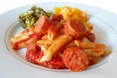 Mild Italian Sausage Penne